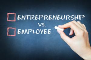 Entrepreneurship versus employee concept
